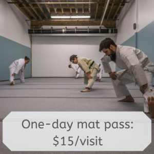one day mat pass, $15/visit