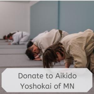 Donate to Aikido Yoshokai of MN