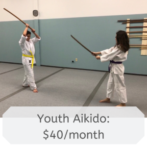 Youth Aikido: $40/month
