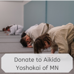 Donate to Aikido Yoshokai of MN